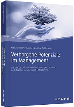 """Zeigt das Cover des Buches """"Verborgene Potenziale im Management"""" von Christoph Döhlemann und Jacqueline Döhlemann"""