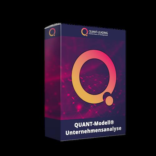 Zeigt das Produktbild QUANT-Modell® Unternehmensanalyse
